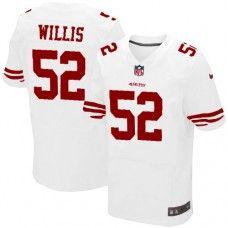 promo code ac8e3 9354e Nike Elite Men's San Francisco 49ers #52 Patrick Willis ...