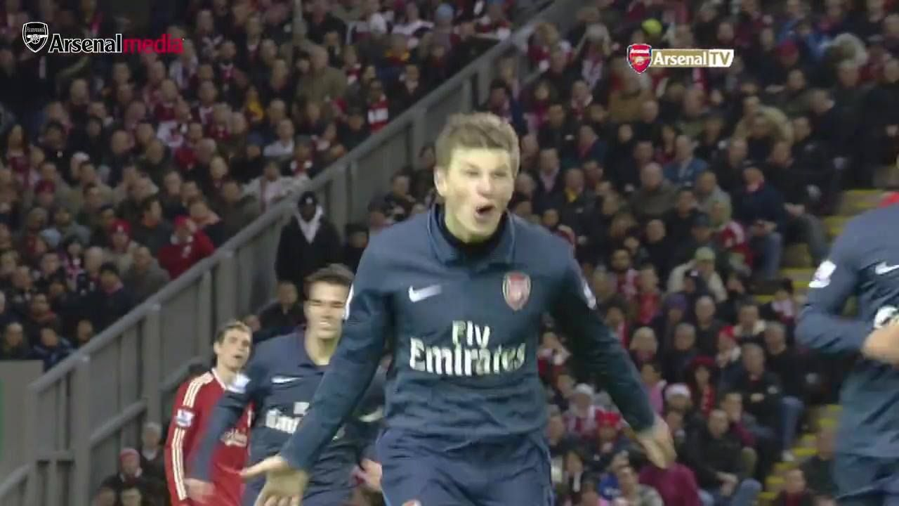 We wouldn't mind another Anfield winner like this one on Saturday...  Take a bow, Andrey Arshavin
