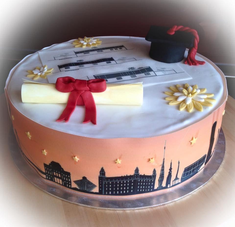 Sponsionstorte Architekt Graduation Cake Architect