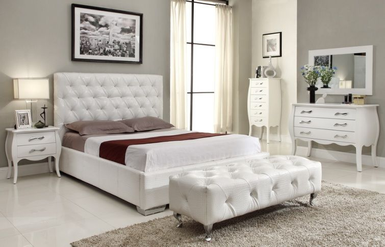 white michelle bedroom set