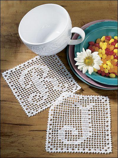Filet Häkeln Buchstaben- Filet Crochet letters | Filet crochet ...