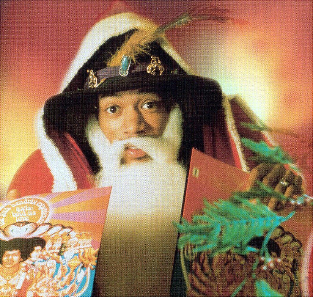 "savetheflower-1967: JIMI HENDRIX - ""Merry Christmas & Happy New Year ..."
