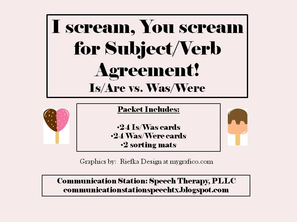 Oh SubjectVerb Agreement Is One Of Those Grammar Skills We As