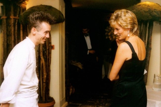 Gary Rhodes' meeting with Princess Diana revealed #princessdiana