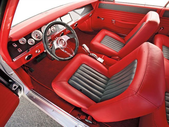 1969 pro touring dodge charger auto cross grey black red. Black Bedroom Furniture Sets. Home Design Ideas