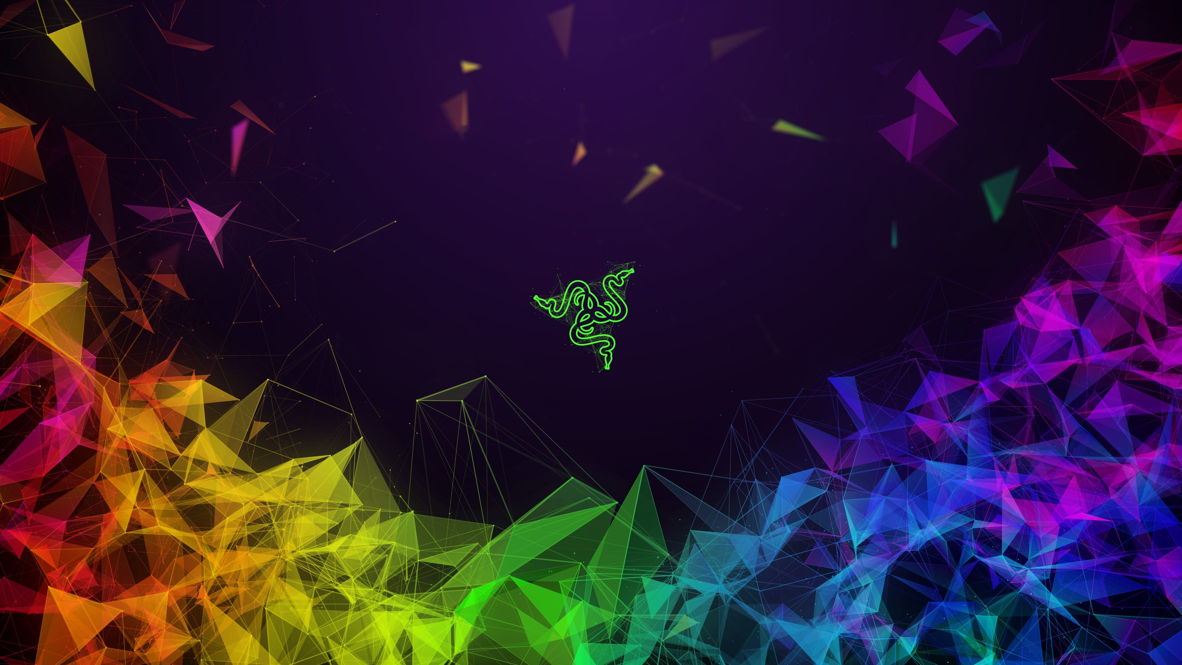 Razer Colorful Abstract 4k Uhd Wallpaper Aesthetic Desktop