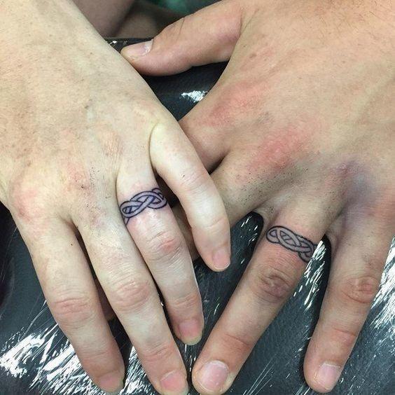 Celtic Bands Wedding tattoos Tattoo and Tatting