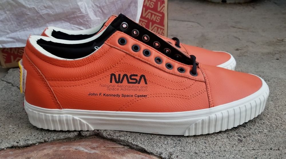 NEW VANS OLD SKOOL LIMITED EDITION NASA SPACE VOYAGER FIRECRACKER ...