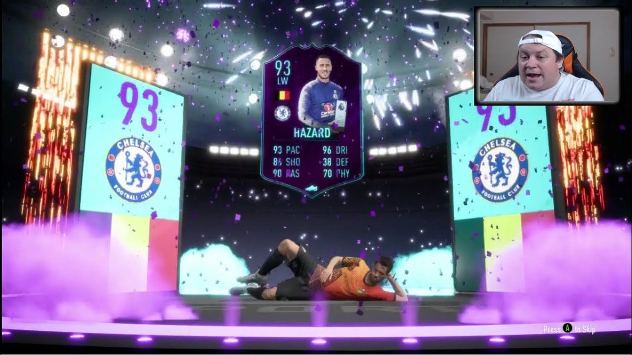 Amazing Hazard SBC!! x2 WALKOUTS!!! FIFA 19 Ultimate