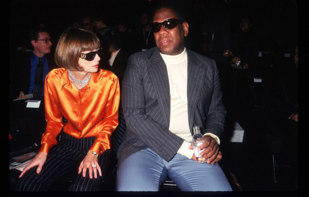 Anna Wintour And Andre Leon Talley, 1996