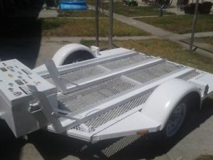 A 3 Rail Motorcycle Trailer Please Read Details Before You Purchase