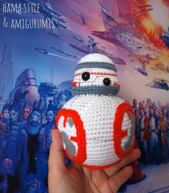 Hama Style & Amigurumis: BB8 de Star Wars [PATRÓN GRATIS ...