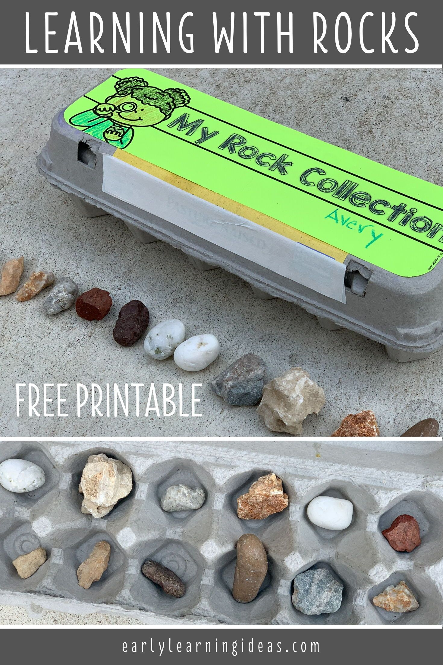 Photo of 20 Easy Activities with Rocks that will Make Learning Fun