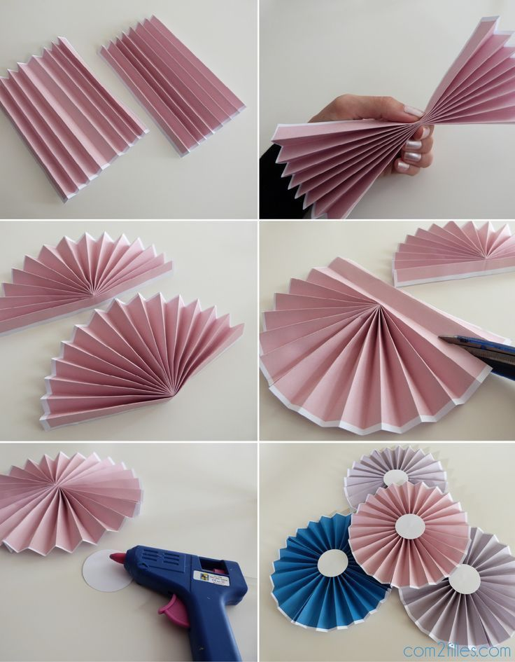Photo of DIY: The tutorial on paper rosettes – simple level,  #DIY #level #Paper #rosettes #Simple #tu…