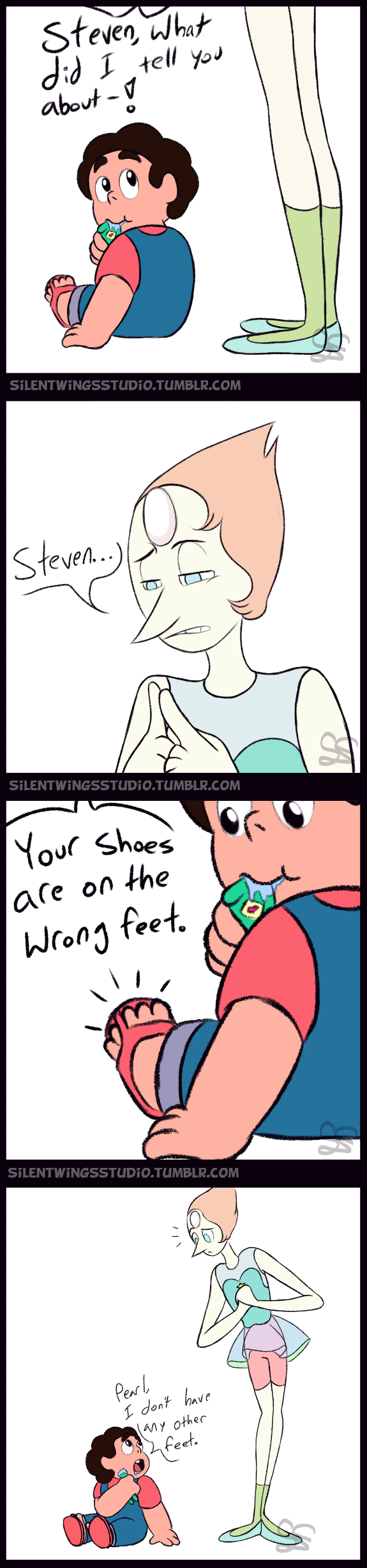 steven universe comic wrong feet by sigma the enigma on deviantart