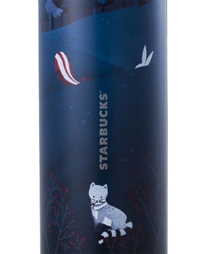 Starbucks Korea 2020 Autumn Limited SS Troy Autumn Animal Tumbler 473ml