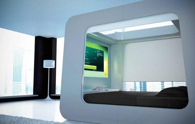 Hi Can The Ultimate Luxury Bed Futuristic Bed Futuristic