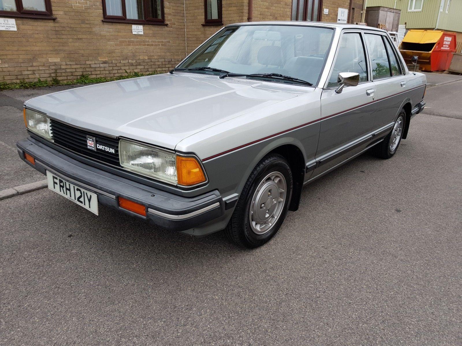 eBay: Datsun Bluebird 1 8GL 5 doors #1980s #cars | Old cars | Datsun