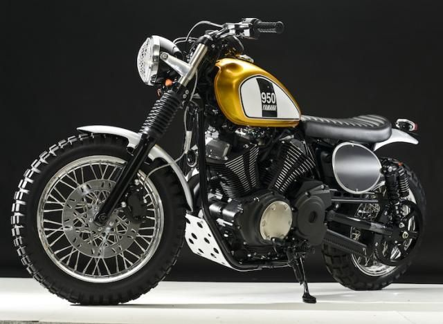 yamaha xv 950 la scrambler secondo doc 39 s chops yamaha xv. Black Bedroom Furniture Sets. Home Design Ideas