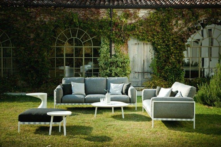 jardines y terrazas 75 ideas creativas de dise o que On pequena mesa de salon de jardin barato