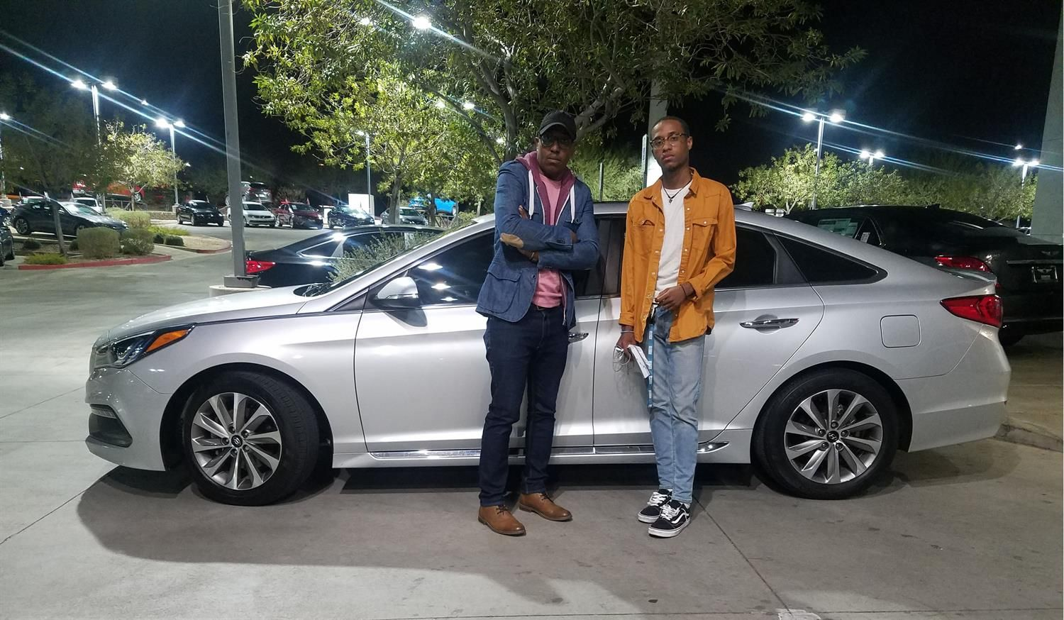 Thank You Divani For Choosing To Be A Part Of The Henderson Hyundai Superstore Family Enjoy Your New Vehicle Mohamma New Hyundai Hyundai Hyundai Dealership