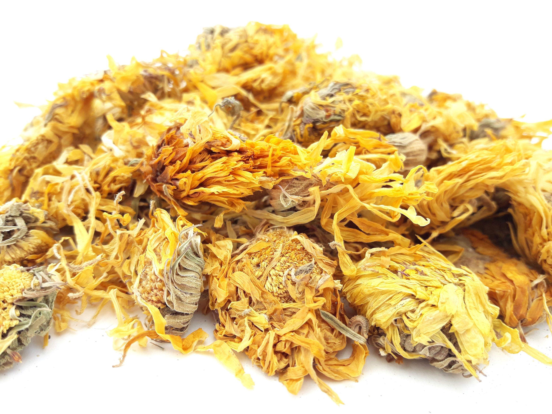 Dried Calendula Flowers, 100g, Candle, Soap, Bath Bomb