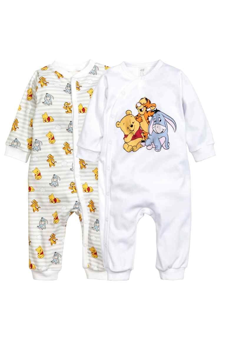 come trovare numerosi in varietà Liquidazione del 60% Pigiami, 2 pz | H&M | vestiti neonata | Disney vêtements ...
