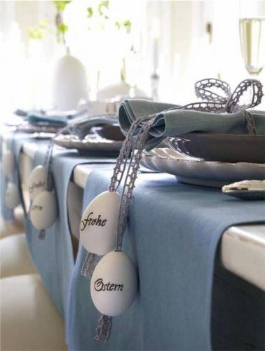 cute table setting idea!