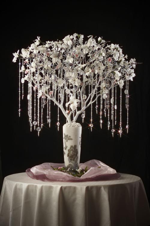 Crystal trees for weddings creating sparkling wedding tree with crystal trees for weddings creating sparkling wedding tree with crystal decoration ornaments junglespirit Images