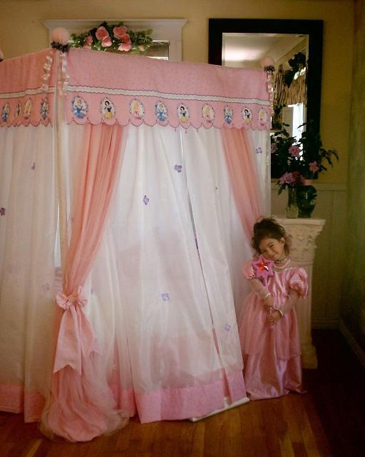 Canopy Tent Beds For Girls | Disney Princess Canopy Bed   Canopy Bedding  Sets   The