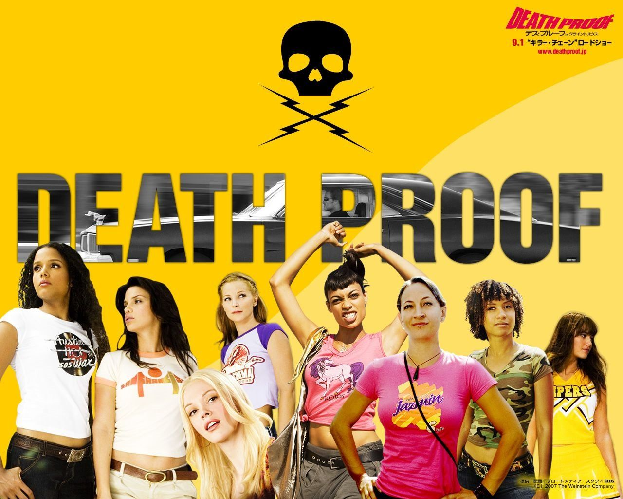 List favourite tarantino movies death proofmovie