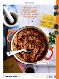 February 2015 Recipes >> Check This Out From The Co Operative Food Mag January February 2015