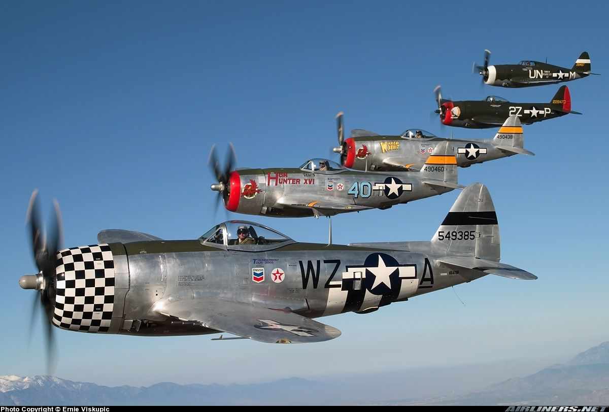 P 47 Thunderbolt Republic P 47 Thunderbolt Role Fighter Bomber Manufacturer Republic Wwii Fighter Planes Aircraft Wwii Airplane