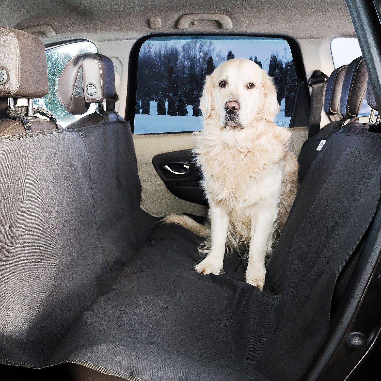 Dog Car Hammock Size Background