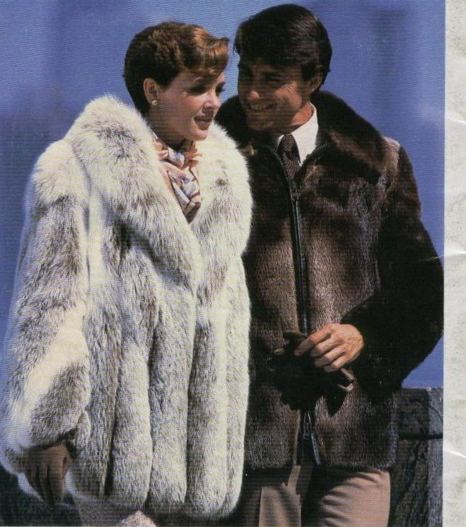 His Amp Hers Fur Coats The Decade Of Fur 1980 S Fur