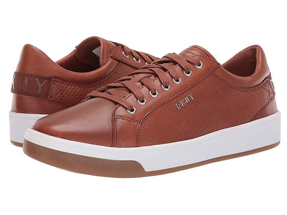 DKNY Samson sneaker. Leather upper