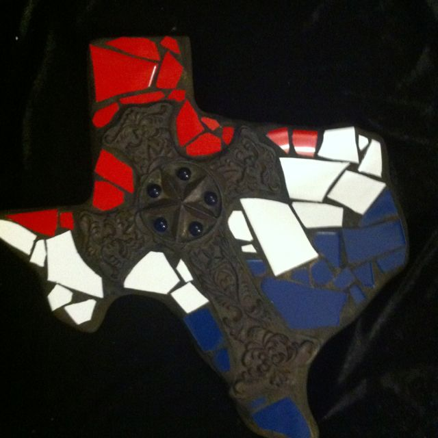 My new mosaic Texas! $45   Local pick up only.