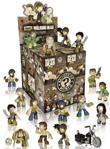 Mystery Mini Blind - The Walking Dead 3 -  van The Walking Dead