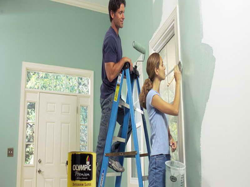 painting interior lowes valspar paint