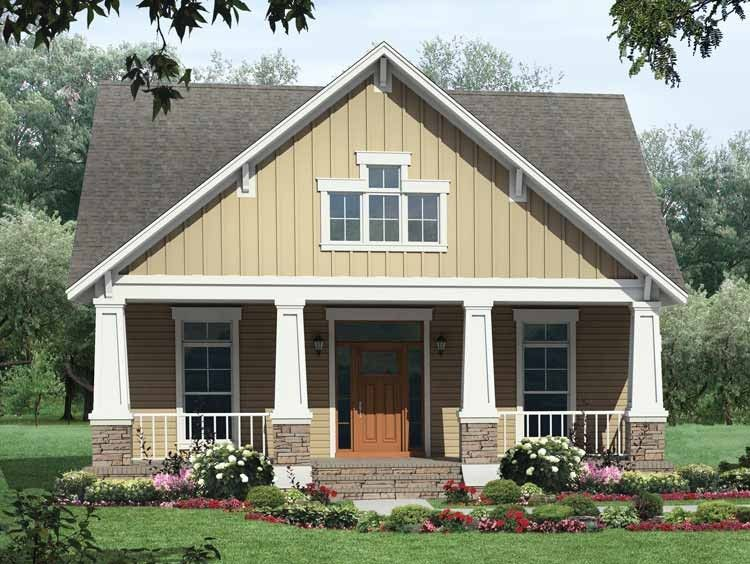 Craftsman Style House Plan 3 Beds 2 Baths 1800 Sq Ft Plan 21 421 Craftsman House Plans Craftsman Style House Plans House Plan Gallery