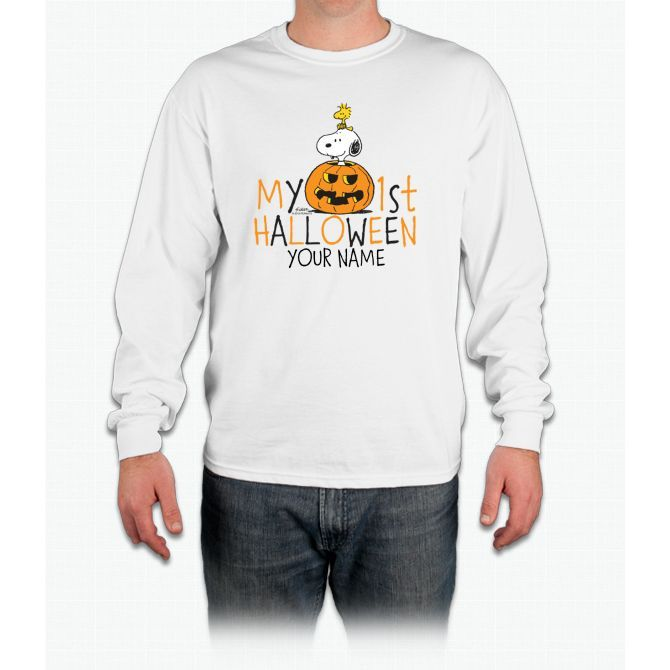 Snoopy - My First Halloween Infant Long Sleeve T-Shirt