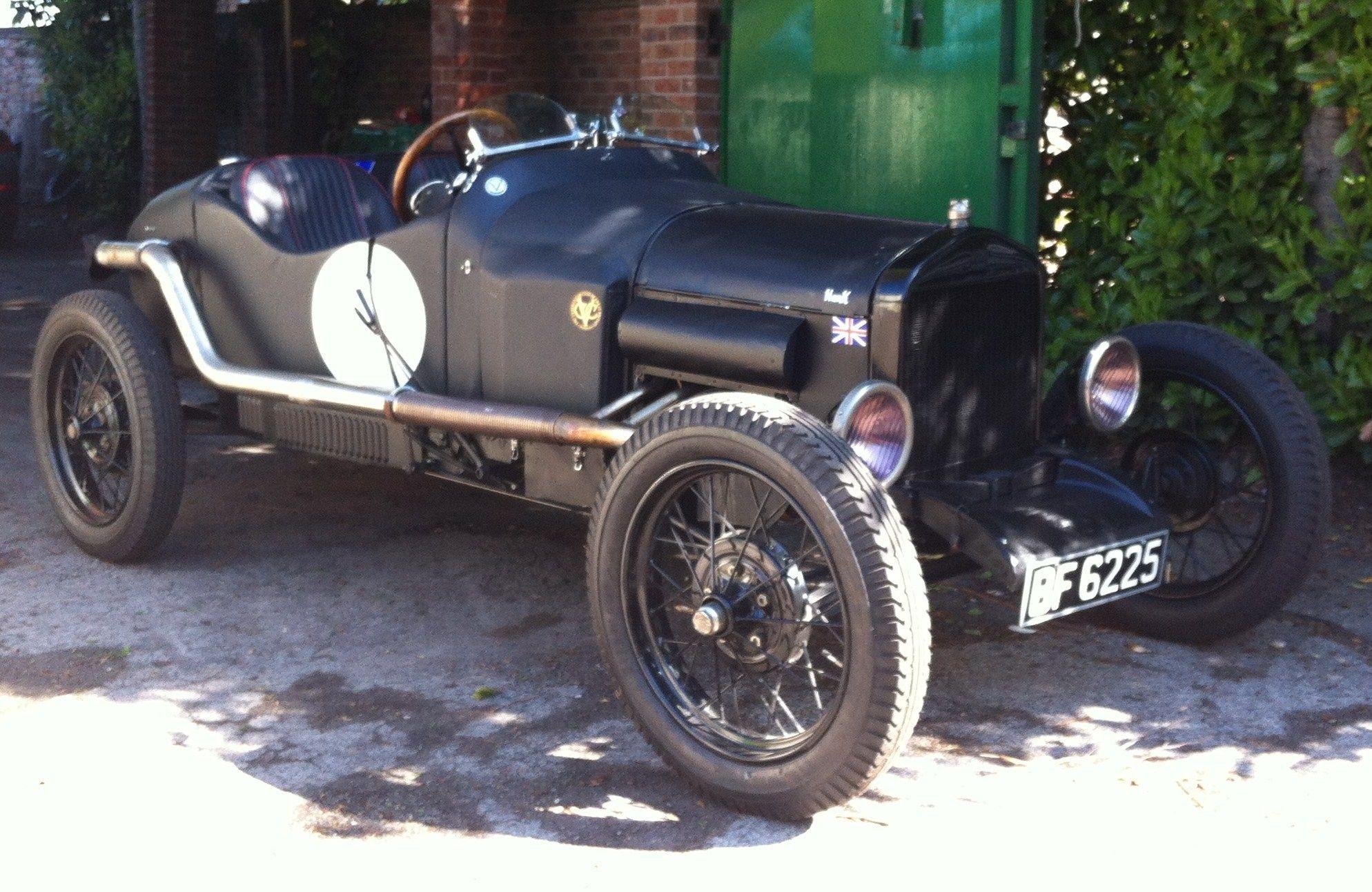 Model T Ford Speedster Kit | 1920 Model T Ford Streamlined Fabric ...