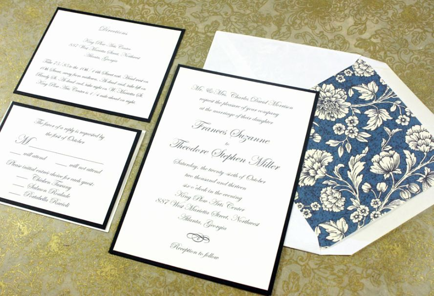 16+ Wedding invitation details card size ideas