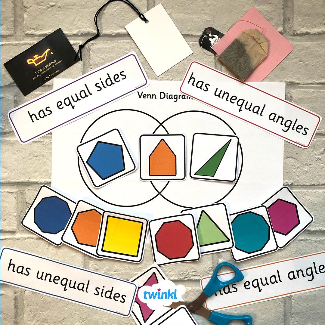 Identify Regular And Irregular Shapes On This Worksheet