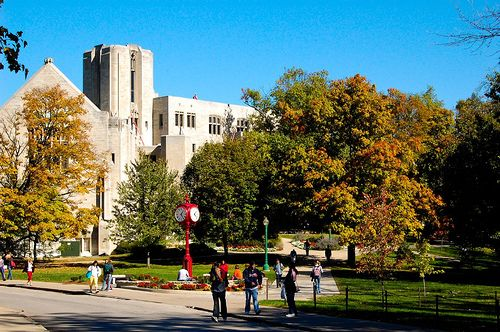 Can I get into indiana university bloomington?