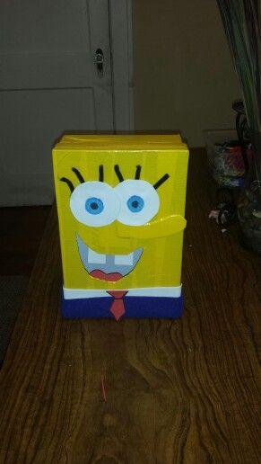 Sponge Bob Valentine Box!