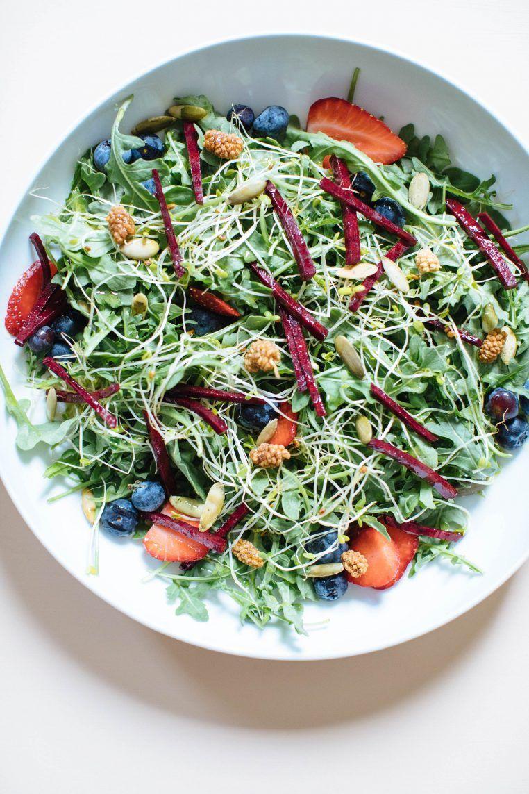 The Antioxidant Summer Salad Nutrition Stripped Recipe Summer Salads Summer Salad Recipes Leafy Green Salads [ 1143 x 762 Pixel ]