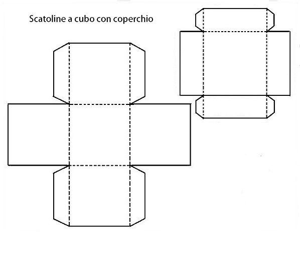 Sagome per realizzare scatoline fai da te modelli for Modelli di case da costruire