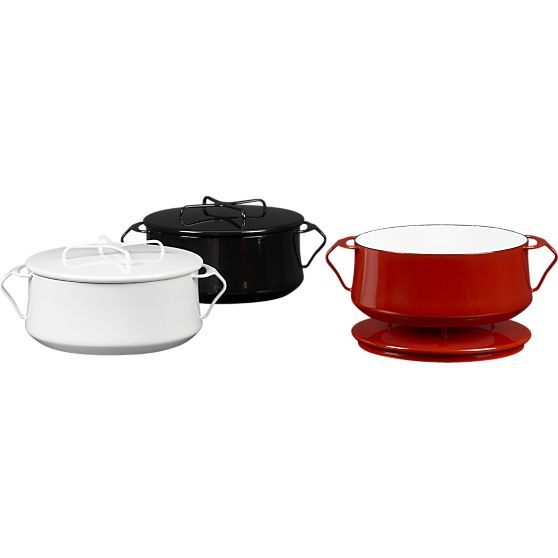 Dansk 174 Kobenstyle Red 4 Quart Casserole In Casseroles