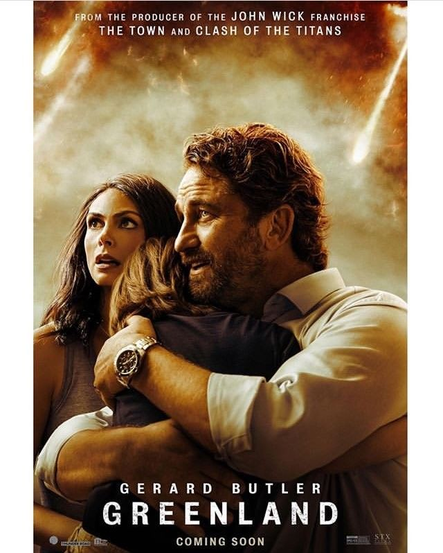 Greenland Poster Oficial New Movie Posters Gerard Butler Free Movies Online